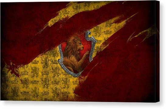 Harry Potter Canvas Print - Harry Potter by Maye Loeser
