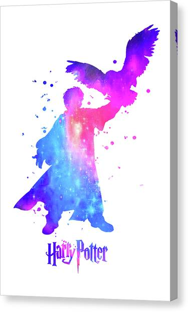 Harry Potter Canvas Print - Harry Potter Poster by Del Art