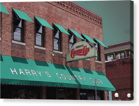 Harry's Country Club Canvas Print