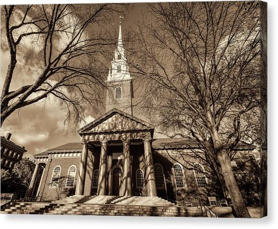 Harvard University Canvas Print - Harvard Memorial Church by Stephen Stookey