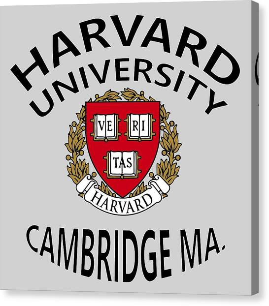 Harvard University Cambridge M A  Canvas Print