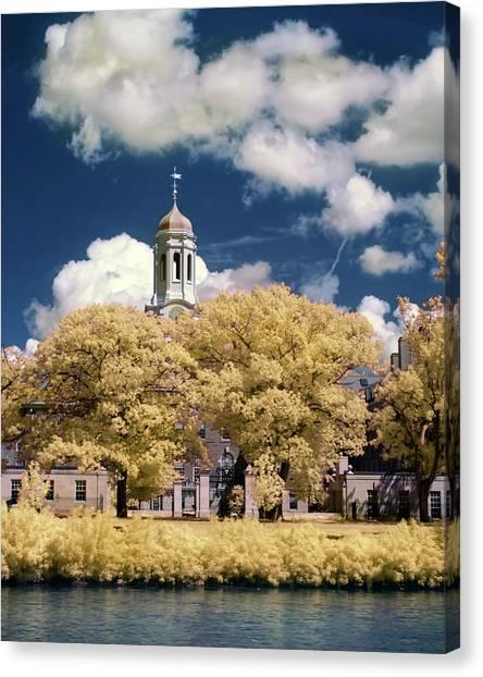 Boston College Canvas Print - Harvard University Dunster House by Joann Vitali
