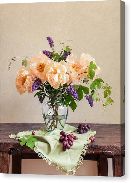 Harvest Bouquet Canvas Print