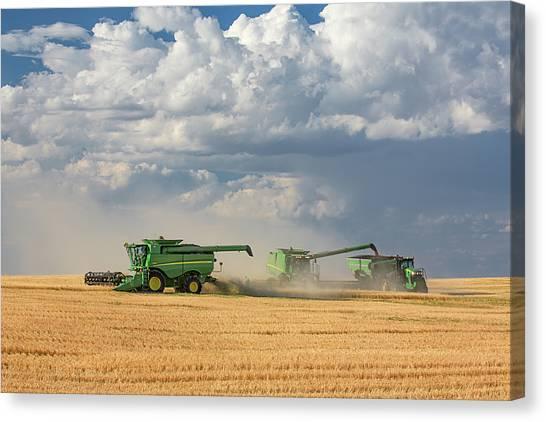 Harvest Clouds Canvas Print