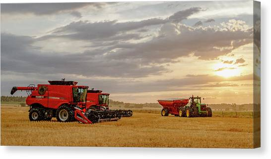 Harvest Delayed Canvas Print