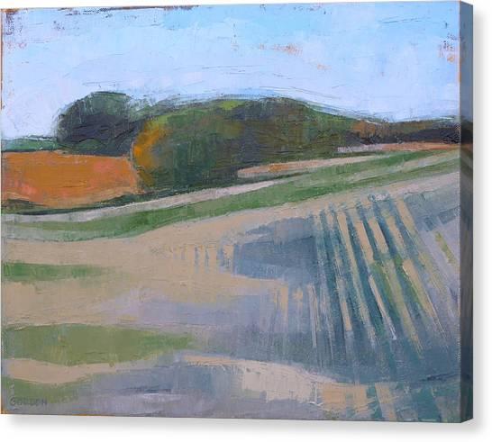 Canvas Print - Harvest Fields by Kim Gordon