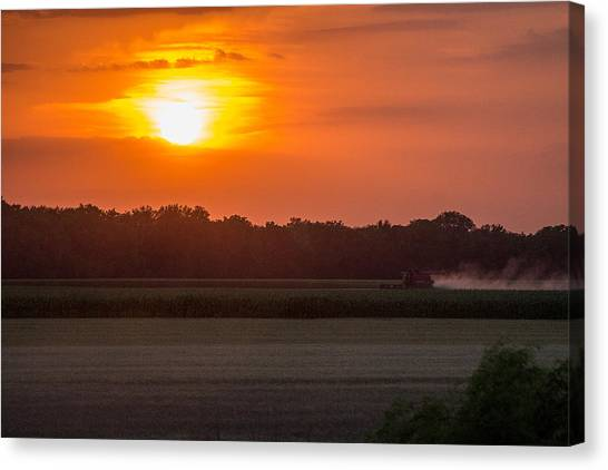 Harvest Canvas Print by Lori Root