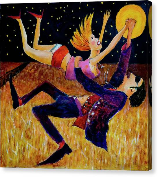 Harvest Moon Jive Canvas Print