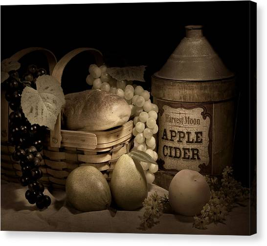 Fruit Baskets Canvas Print - Harvest Moon by Tom Mc Nemar