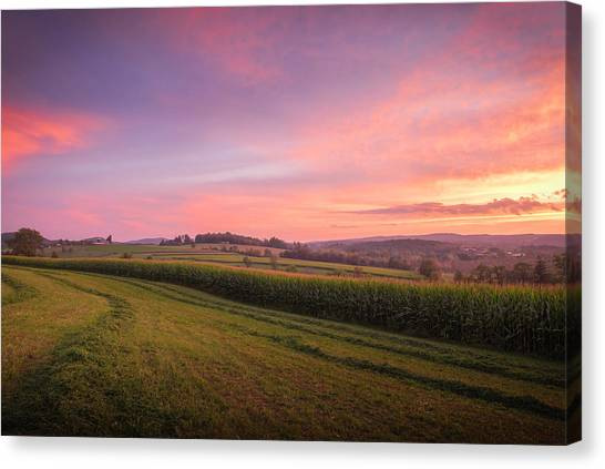 Harvest Sky Canvas Print