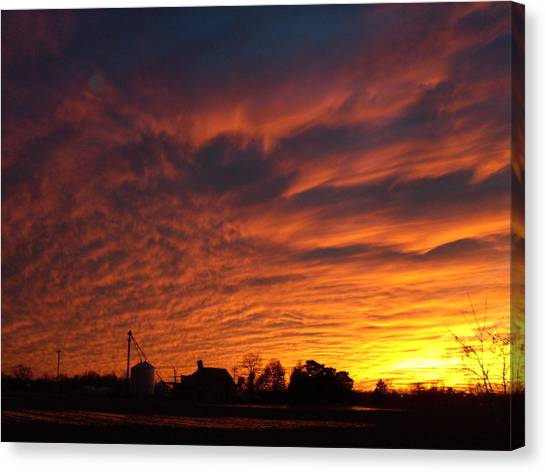 Harvest Sky Canvas Print