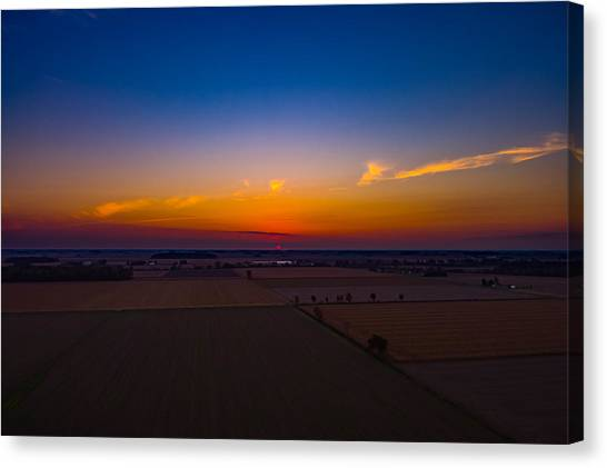 Harvest Sunrise Canvas Print