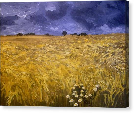 Harvest Time Canvas Print by Mats Eriksson