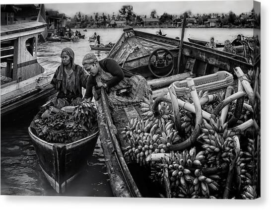 Harvest Canvas Print - Harvest Transaction by Erwin Astro