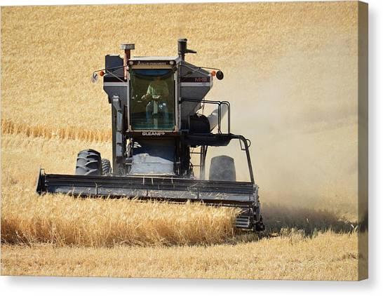 Harvester Canvas Print
