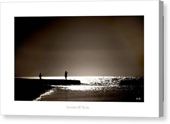 Harvester Of The Sea Canvas Print