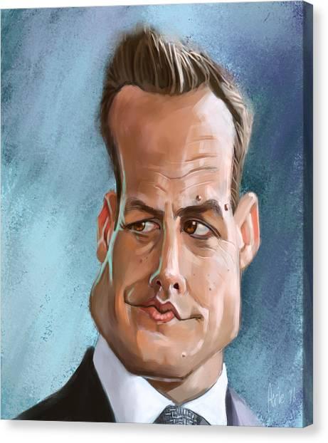 Harvey Specter Canvas Print