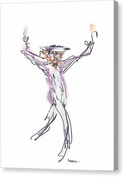 Hasidic Dancer Canvas Print