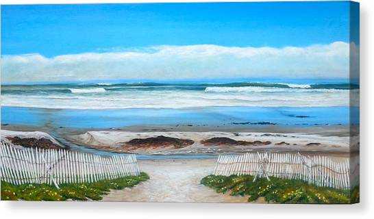 Ucsb Canvas Print - Haskell's Winter Day by Jeffrey Campbell