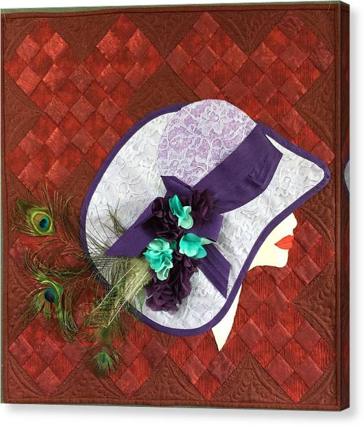 Hat Trick Canvas Print - Hat Trick by Jo Baner