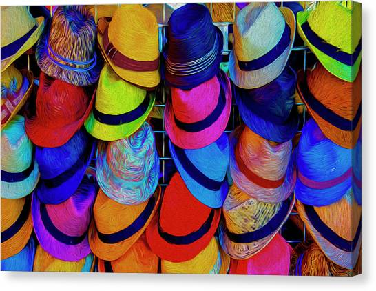 Hat Trick Canvas Print - Hat Trick by Paul Wear