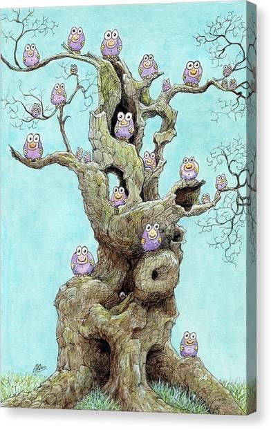 Hatchlings Canvas Print