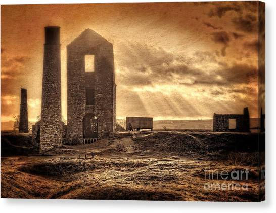 Haunted Britain - Magpie Mine Canvas Print