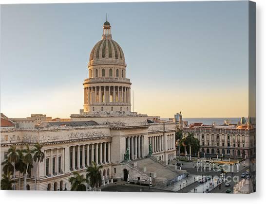 Havana Capitolio Canvas Print