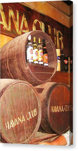 Havana Club Canvas Print
