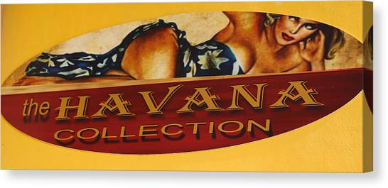Havana Collection Canvas Print