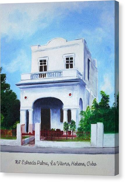 Havana House Canvas Print