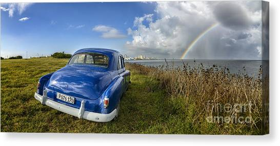 Havana Rainbow Canvas Print