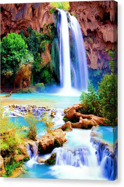 Havasu Falls Canvas Print