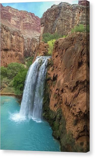 Havasu Falls Grand Canyon Canvas Print