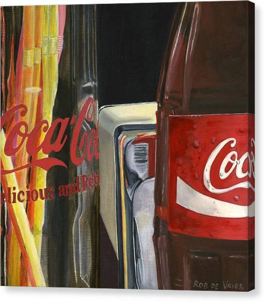 Have A Coke... Canvas Print