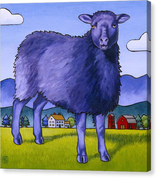 Have You Any Wool Canvas Print