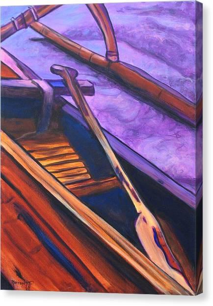 Hawaiian Canoe Canvas Print