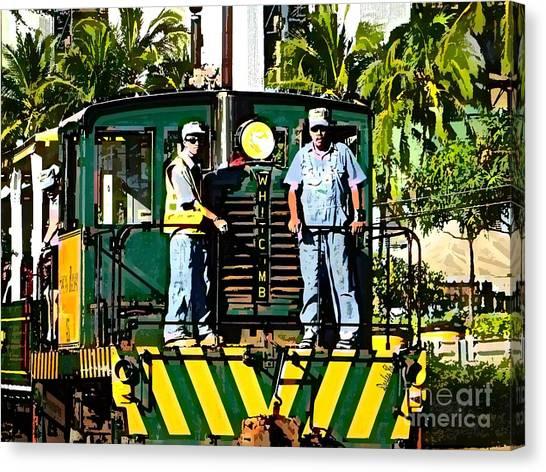 Hawaiian Railway Canvas Print