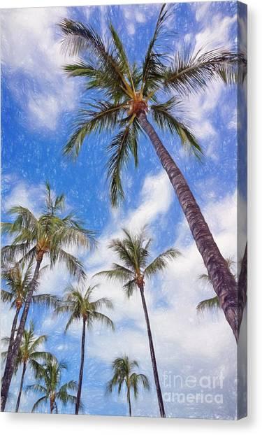 Hawaiian Vacation #4 Canvas Print