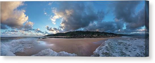 Global Warming Canvas Print - Hawaii's Newest Beach - Shifting Sands. by Sean Davey
