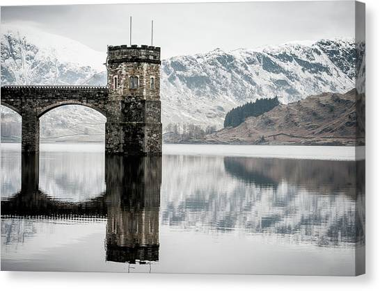 Mountain Ranges Canvas Print - Haweswater  by Mark Mc neill