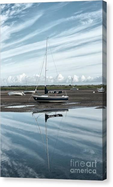 Dinghy Canvas Print - Hawk 20 by John Edwards