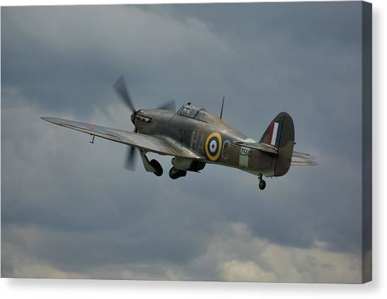 Hawker Hurricane Mk Xii  Canvas Print