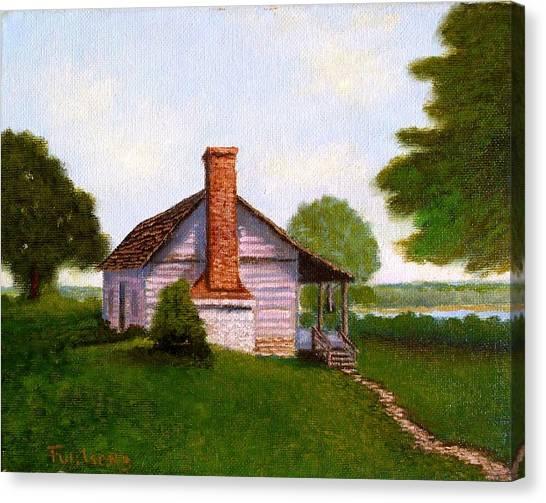 Hawkeye Cabin Canvas Print