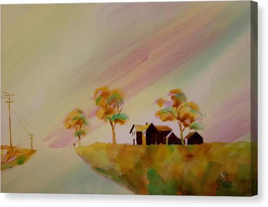 Hawkeye Country Canvas Print