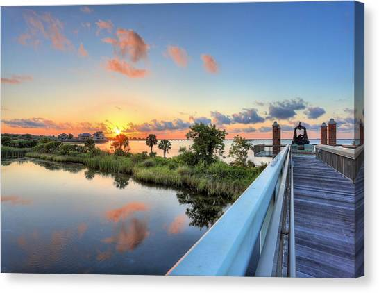 Missing Child Canvas Print - Hawkshaw Lagoon Memorial Park by JC Findley
