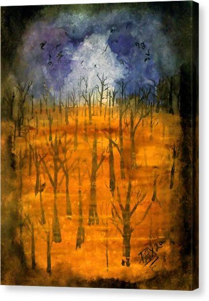 Haze Canvas Print by Jason Pliler