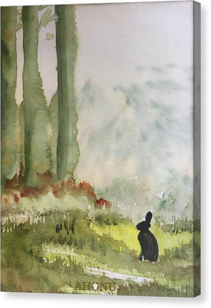 Hazel-rah Canvas Print