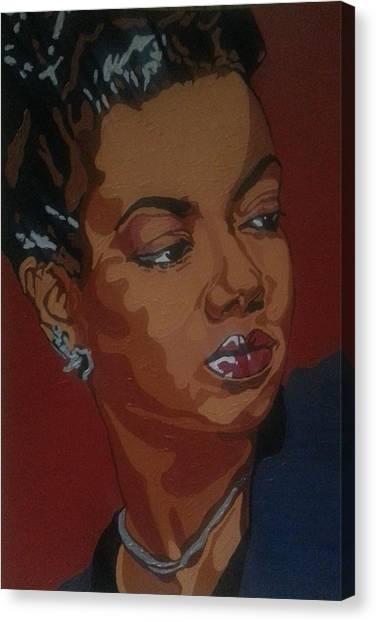 Hazel Scott Canvas Print