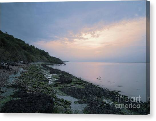 Hazy Sunset Canvas Print